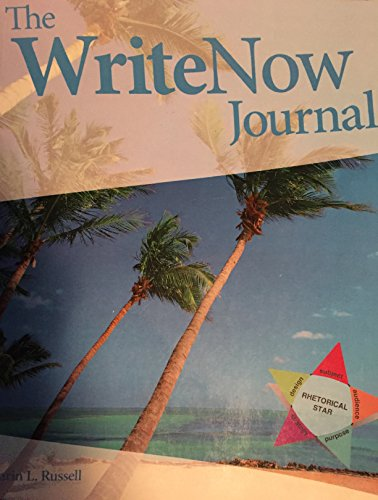 9780697813602: The WriteNow Journal
