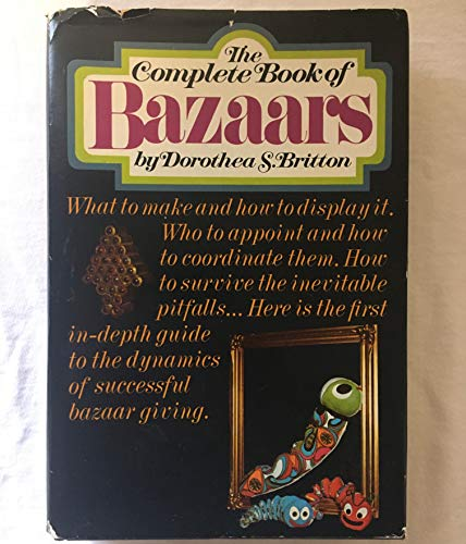 9780698104679: The Complete Book of Bazaars