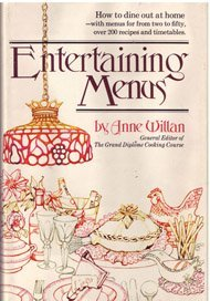 9780698105522: Entertaining menus