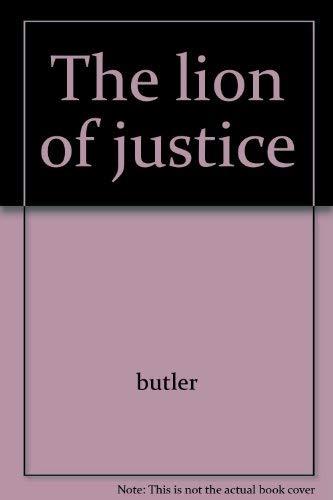 The lion of justice: Butler, Margaret