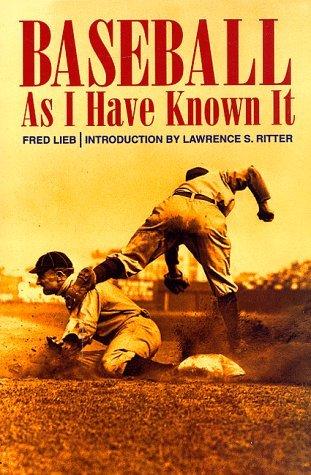 9780698108158: Baseball As I Knew It