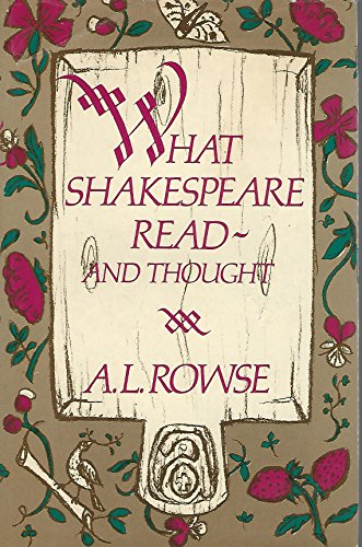 9780698110779: What Shakespeare Read--And Thought