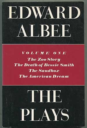 9780698110922: The Plays Volume 1: The Zoo Story, The Death of Bessie Smith, The Sandbox, The American Dream