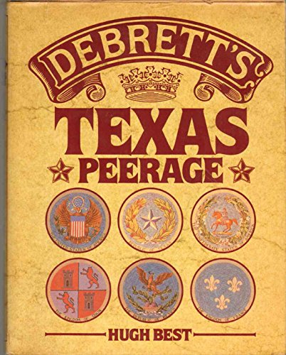 9780698112445: Debrett's Texas Peerage