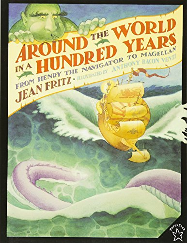 9780698116382: Around the World in a Hundred Years: From Henry the Navigator to Magellan