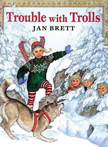 Trouble with Trolls (9780698117914) by Brett, Jan