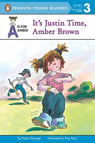 9780698119079: It's Justin Time, Amber Brown (Puffin Easy-to-read)