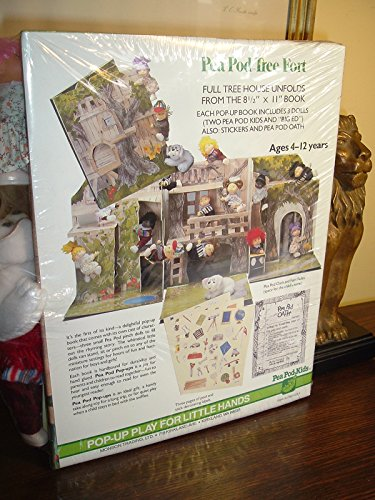 9780698120037: Pea Pod Tree Fort/Book and Doll