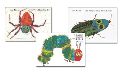 9780698131408: The Very Busy Spider / The Very Clumsy Click Beetle / The Very Hungry Caterpillar