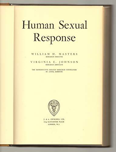 9780700000548: Human sexual response