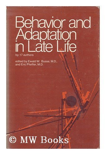9780700001699: Behaviour and Adaptation in Later Life