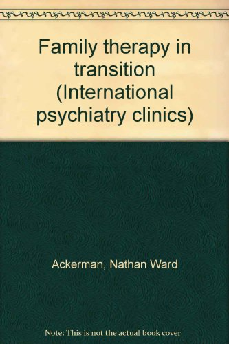 9780700001958: Family Therapy in Transition
