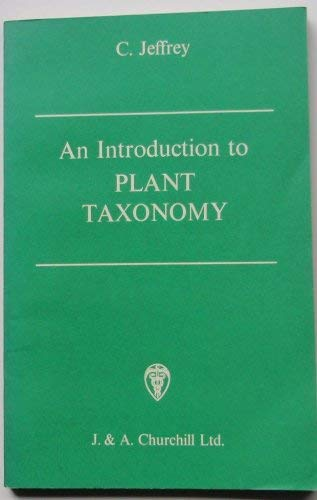 9780700013791: Introduction to Plant Taxonomy