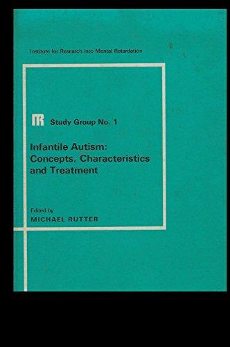 9780700015337: Infantile Autism: Concepts Characteristics and Treatment