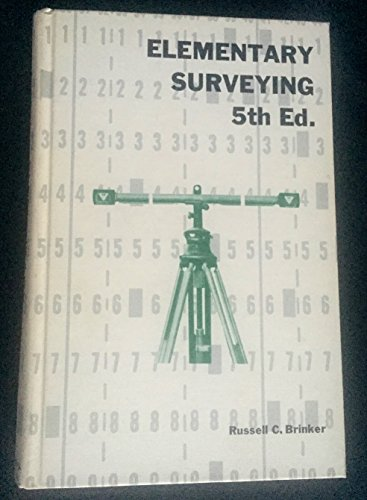 Elementary Surveying, 5th Edition: Brinker, Russell C.
