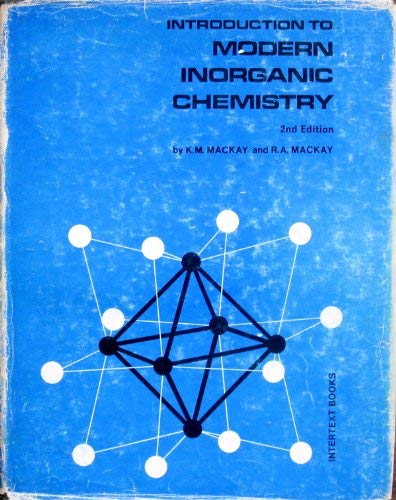 9780700201815: Introduction to Modern Inorganic Chemistry