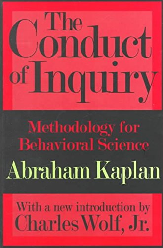 9780700202119: The conduct of Inquiry
