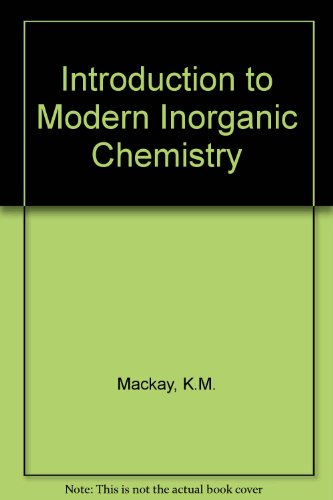 9780700202683: Introduction to Modern Inorganic Chemistry