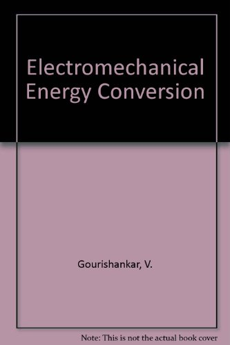 9780700220380: Electromechanical Energy Conversion