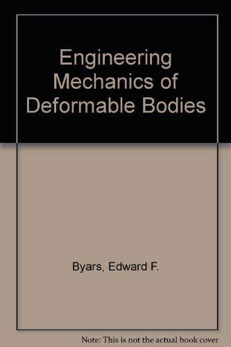 9780700222421: Engineering Mechanics of Deformable Bodies