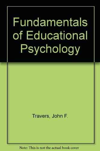 Fundamentals of Educational Psychology.
