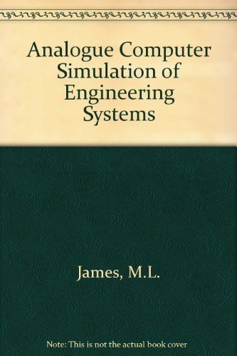 9780700223763: Analogue Computer Simulation of Engineering Systems