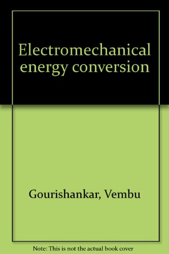 9780700224043: Electromechanical energy conversion