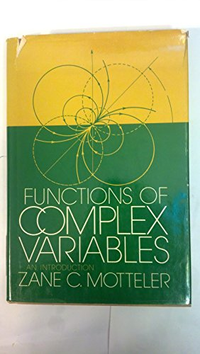 9780700224715: Functions of complex variables: An introduction