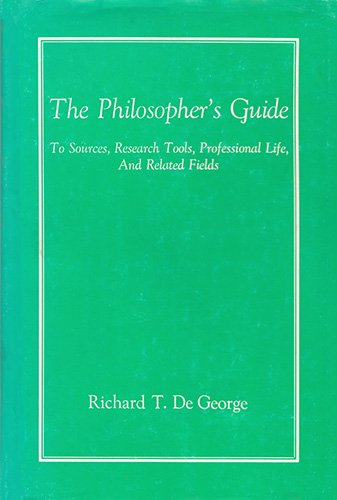 9780700602001: Philosopher's Guide to Sources, Research Tools, Professional Life, and Related Fields