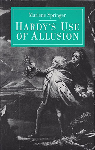 9780700602315: Hardy's Use of Allusion