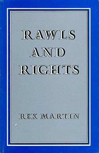 9780700603107: Rawls and Rights