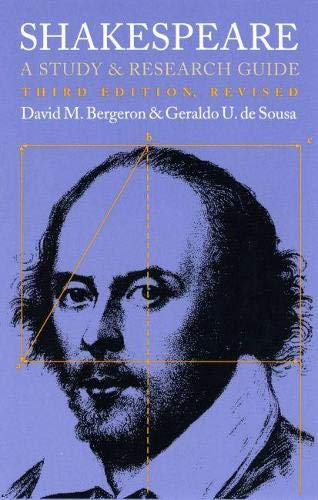 9780700606931: Shakespeare: A Study and Research Guide