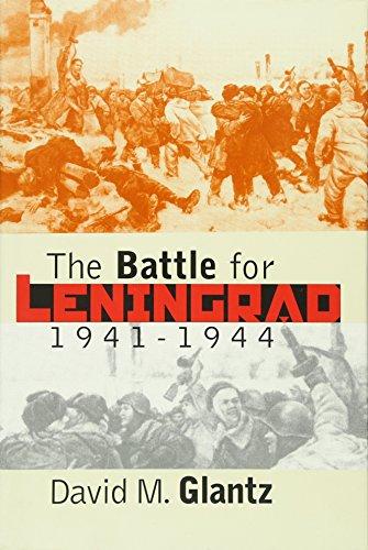 9780700612086: The Battle for Leningrad, 1941-1944 (Modern War Studies)