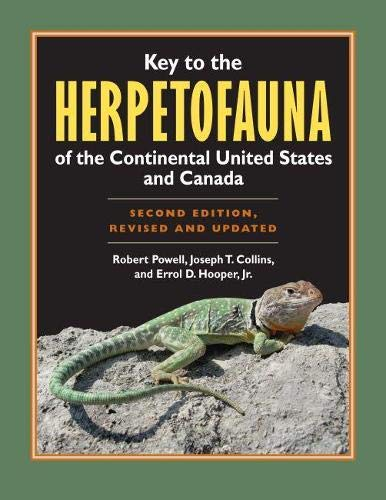 9780700618330: Key to the Herpetofauna of the Continental United States and Canada: Second Edition, Revised and Updated