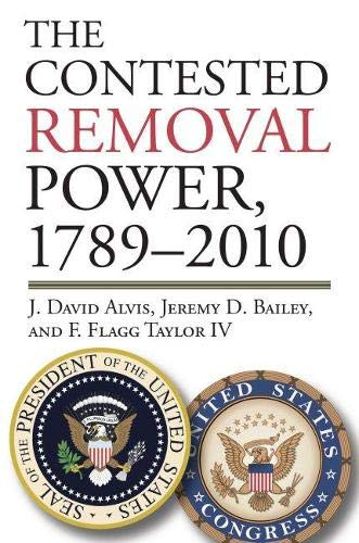 9780700619221: The Contested Removal Power, 1789-2010 (American Political Thought)