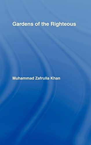 9780700700738: Gardens of the Righteous