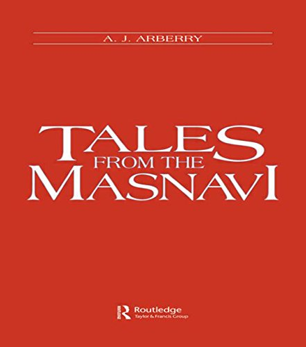 9780700702732: Tales from the Masnavi