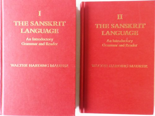 9780700703524: The Sanskrit Language: An Introductory Grammar and Reader