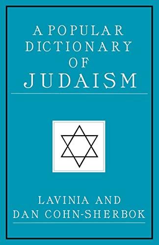 9780700703579: A Popular Dictionary of Judaism (Popular Dictionaries of Religion)