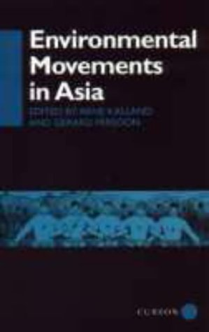 9780700706174: Environmental Movements in Asia (Man and Nature, No. 4)