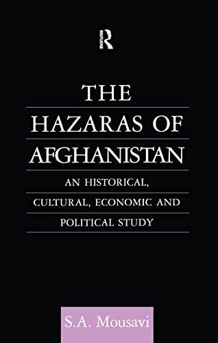 9780700706303: The Hazaras of Afghanistan