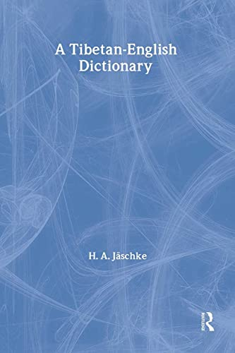 9780700706815: Tibetan-English Dictionary