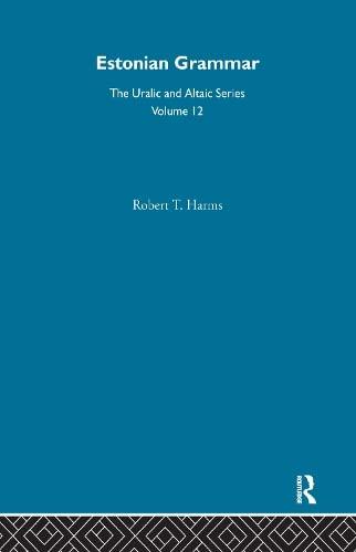 9780700708123: Estonian Grammar (Uralic & Altaic)