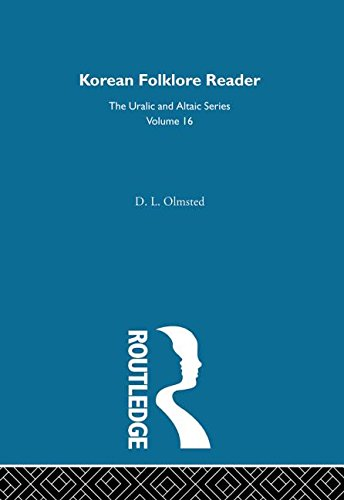 Korean Folklore Reader: OLMSTED, DAVID L.