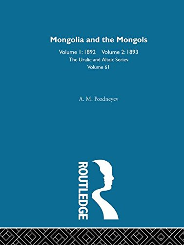 9780700708611: Mongolia and the Mongols (Uralic & Altaic)