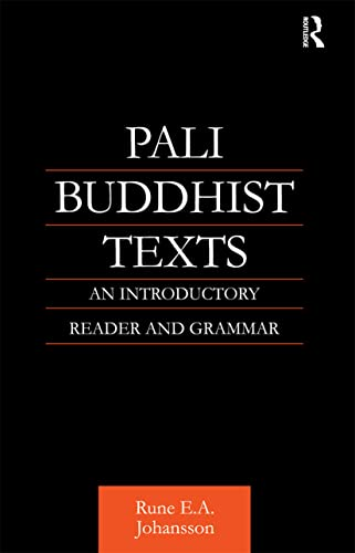9780700710683: Pali Buddhist Texts: An Introductory Reader and Grammar (Nias Monograph Series, 14)