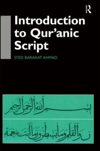 9780700710690: Introduction to Qur'anic Script