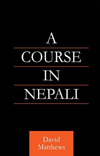 9780700710706: Course in Nepali