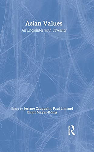 9780700710966: Asian Values: Encounter with Diversity