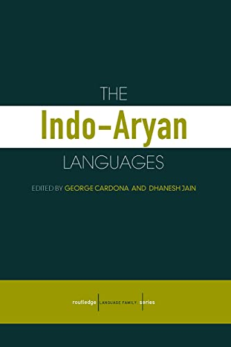 9780700711307: The Indo-Aryan Languages (Routledge Language Family Series)